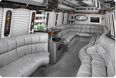 Montreal Limo Bus Interiour